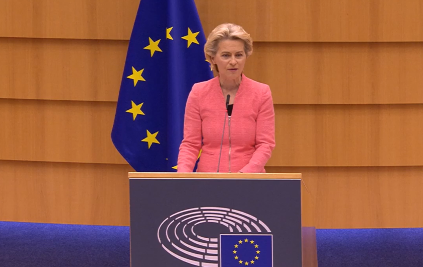 Govor predsjednice von der Leyen o stanju Unije